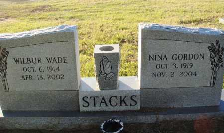STACKS, NINA GORDON - Conway County, Arkansas | NINA GORDON STACKS - Arkansas Gravestone Photos