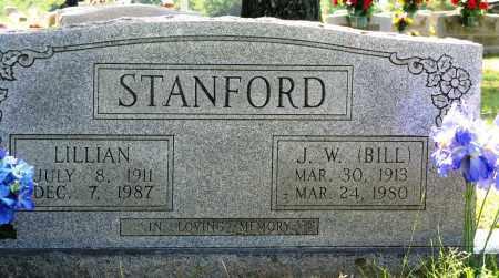 "STANFORD, J W ""BILL"" - Conway County, Arkansas | J W ""BILL"" STANFORD - Arkansas Gravestone Photos"