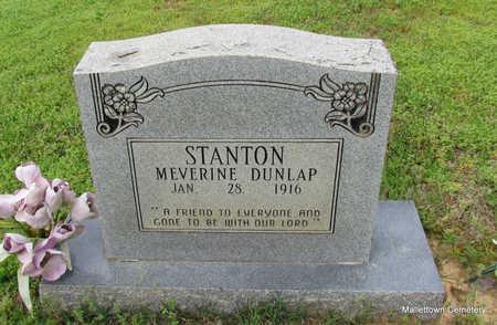 STANTON, ICIL MEVERINE - Conway County, Arkansas | ICIL MEVERINE STANTON - Arkansas Gravestone Photos