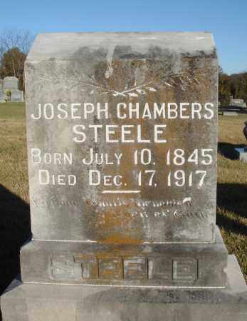 STEELE, JOSEPH CHAMBERS - Conway County, Arkansas | JOSEPH CHAMBERS STEELE - Arkansas Gravestone Photos