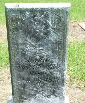 STELL, B. B. (ROBERT BAYLESS) - Conway County, Arkansas | B. B. (ROBERT BAYLESS) STELL - Arkansas Gravestone Photos