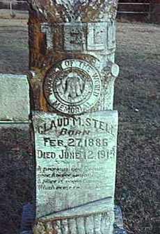 STELL, CLAUD M. - Conway County, Arkansas | CLAUD M. STELL - Arkansas Gravestone Photos