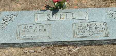 STELL, COLUMBUS ASBURY - Conway County, Arkansas | COLUMBUS ASBURY STELL - Arkansas Gravestone Photos