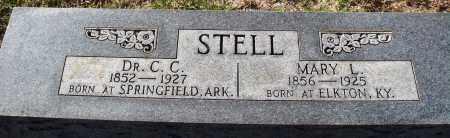 STELL, MARY L. - Conway County, Arkansas   MARY L. STELL - Arkansas Gravestone Photos