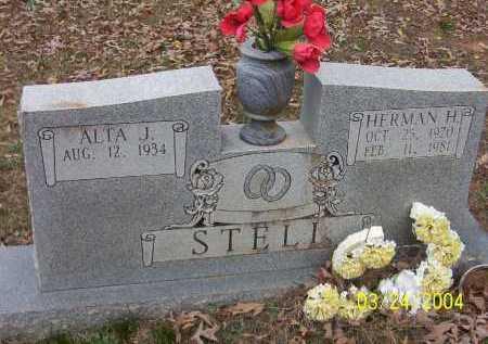 STELL, HERMAN HOWARD - Conway County, Arkansas | HERMAN HOWARD STELL - Arkansas Gravestone Photos