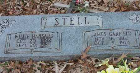 STELL, JAMES GARFIELD - Conway County, Arkansas | JAMES GARFIELD STELL - Arkansas Gravestone Photos