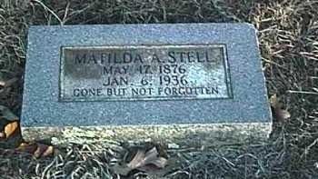 STELL, MATILDA ARZELLA - Conway County, Arkansas | MATILDA ARZELLA STELL - Arkansas Gravestone Photos