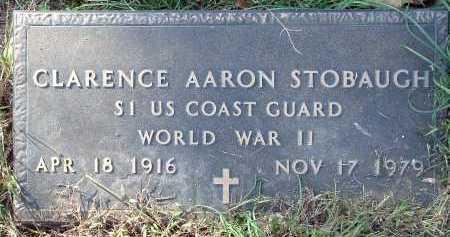 STOBAUGH  (VETERAN WWII), CLARENCE AARON - Conway County, Arkansas   CLARENCE AARON STOBAUGH  (VETERAN WWII) - Arkansas Gravestone Photos