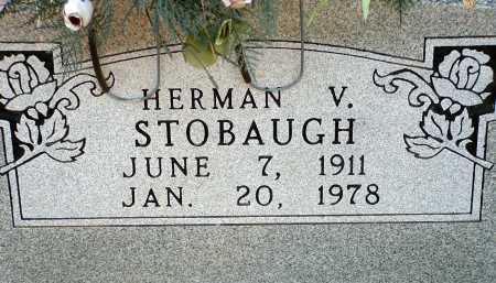 STOBAUGH, HERMAN VERNO - Conway County, Arkansas | HERMAN VERNO STOBAUGH - Arkansas Gravestone Photos