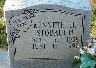 STOBAUGH, KENNETH H. - Conway County, Arkansas | KENNETH H. STOBAUGH - Arkansas Gravestone Photos