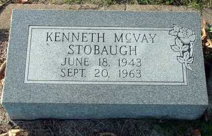 STOBAUGH, KENNETH MCVAY - Conway County, Arkansas | KENNETH MCVAY STOBAUGH - Arkansas Gravestone Photos