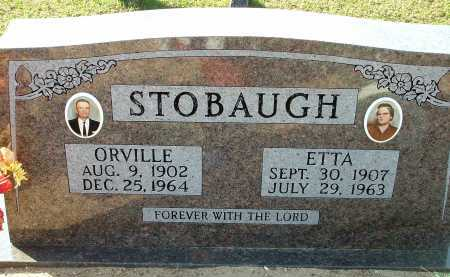 STOBAUGH, ETTA (ETTA RUTH) - Conway County, Arkansas | ETTA (ETTA RUTH) STOBAUGH - Arkansas Gravestone Photos