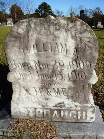 STOBAUGH, WILLIAM A. - Conway County, Arkansas | WILLIAM A. STOBAUGH - Arkansas Gravestone Photos