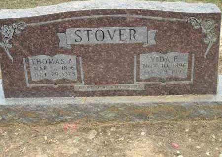 STOVER, VIDA ELIZABETH - Conway County, Arkansas   VIDA ELIZABETH STOVER - Arkansas Gravestone Photos