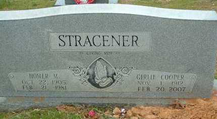 STRACENER, GIRLIE JEWELL - Conway County, Arkansas | GIRLIE JEWELL STRACENER - Arkansas Gravestone Photos
