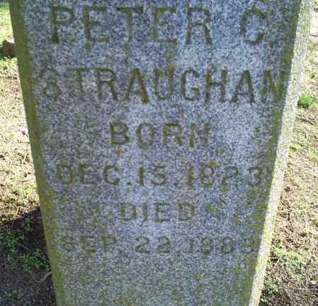 STRAUGHAN, PETER C - Conway County, Arkansas | PETER C STRAUGHAN - Arkansas Gravestone Photos