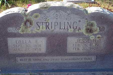STOBAUGH STRIPLING, DELLA ELIZABETH - Conway County, Arkansas | DELLA ELIZABETH STOBAUGH STRIPLING - Arkansas Gravestone Photos