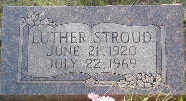 STROUD, LUTHER - Conway County, Arkansas   LUTHER STROUD - Arkansas Gravestone Photos