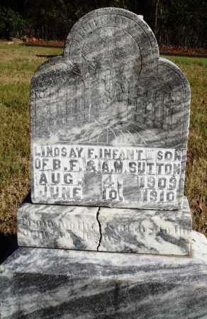SUTTON, LINDSAY F. - Conway County, Arkansas | LINDSAY F. SUTTON - Arkansas Gravestone Photos