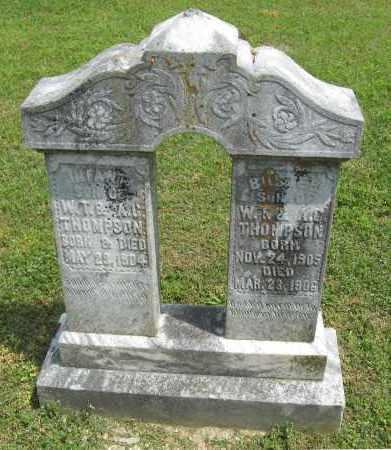 THOMPSON, BUSTER - Conway County, Arkansas | BUSTER THOMPSON - Arkansas Gravestone Photos