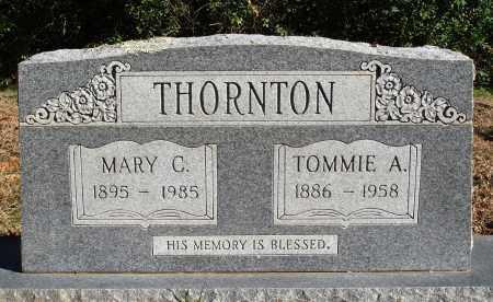 THORNTON, TOMMIE A. - Conway County, Arkansas | TOMMIE A. THORNTON - Arkansas Gravestone Photos