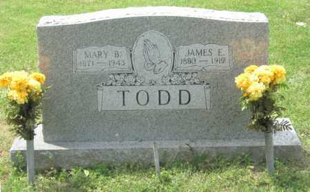 WELCH TODD, MARY BEULAH - Conway County, Arkansas | MARY BEULAH WELCH TODD - Arkansas Gravestone Photos