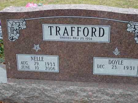 """TRAFFORD, AGNES LANELL """"NELLE"""" - Conway County, Arkansas 