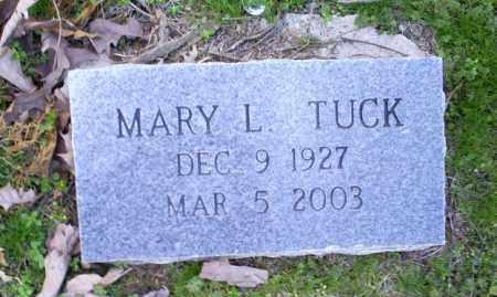 TUCK, MARY L. - Conway County, Arkansas | MARY L. TUCK - Arkansas Gravestone Photos