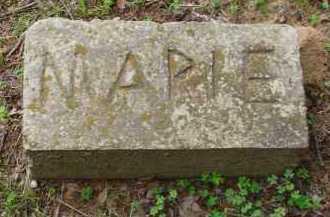 UNKNOWN, MARIE - Conway County, Arkansas | MARIE UNKNOWN - Arkansas Gravestone Photos