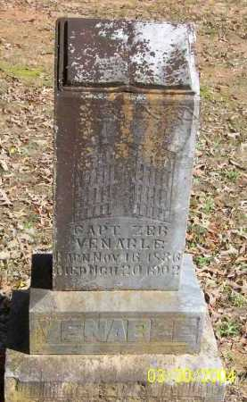 VENABLE  (VETERAN CSA), ZEBULON A   PIKE - Conway County, Arkansas | ZEBULON A   PIKE VENABLE  (VETERAN CSA) - Arkansas Gravestone Photos