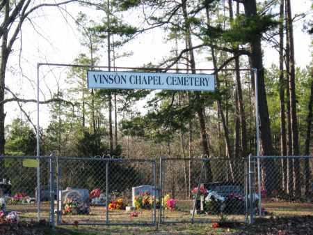 *VINSON CHAPEL  VIEW,  - Conway County, Arkansas    *VINSON CHAPEL  VIEW - Arkansas Gravestone Photos