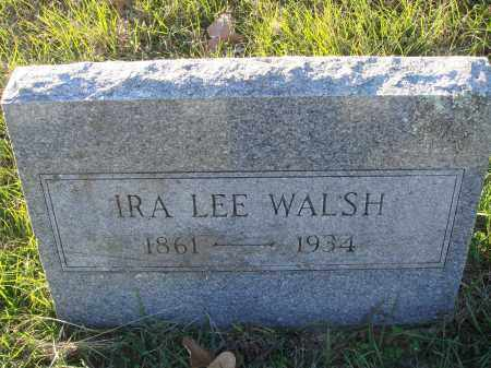 WALSH, IRA LEE - Conway County, Arkansas | IRA LEE WALSH - Arkansas Gravestone Photos