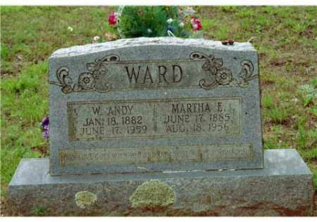 WARD, WILLIAM ANDREW - Conway County, Arkansas | WILLIAM ANDREW WARD - Arkansas Gravestone Photos