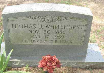 WHITEHURST, THOMAS J - Conway County, Arkansas   THOMAS J WHITEHURST - Arkansas Gravestone Photos