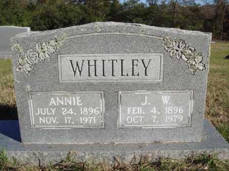 WHITELEY, ANNIE - Conway County, Arkansas   ANNIE WHITELEY - Arkansas Gravestone Photos