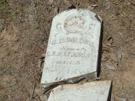 WILDER, GEORGE H. - Conway County, Arkansas | GEORGE H. WILDER - Arkansas Gravestone Photos