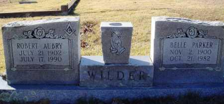 WILDER, ROBERT AUBRY - Conway County, Arkansas | ROBERT AUBRY WILDER - Arkansas Gravestone Photos