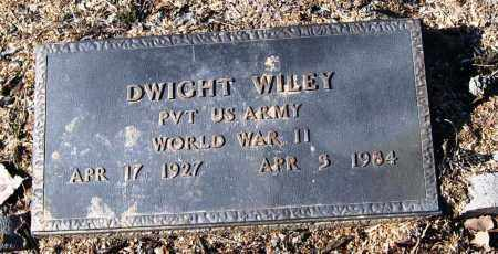 WILEY, JR  (VETERAN WWII), DWIGHT - Conway County, Arkansas | DWIGHT WILEY, JR  (VETERAN WWII) - Arkansas Gravestone Photos