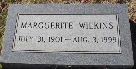 WILKINS, MARGUERITE - Conway County, Arkansas | MARGUERITE WILKINS - Arkansas Gravestone Photos