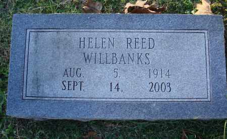 REED WILLBANKS, HELEN - Conway County, Arkansas | HELEN REED WILLBANKS - Arkansas Gravestone Photos
