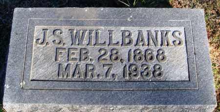 WILLBANKS, J. S. - Conway County, Arkansas   J. S. WILLBANKS - Arkansas Gravestone Photos