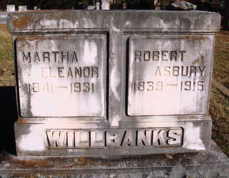 WILLBANKS, ROBERT ASBURY - Conway County, Arkansas   ROBERT ASBURY WILLBANKS - Arkansas Gravestone Photos