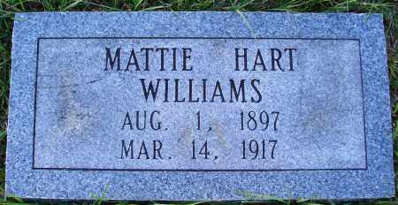 WILLIAMS (2), MATTIE - Conway County, Arkansas | MATTIE WILLIAMS (2) - Arkansas Gravestone Photos