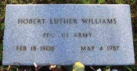 WILLIAMS  (VETERAN), HOBERT LUTHER - Conway County, Arkansas | HOBERT LUTHER WILLIAMS  (VETERAN) - Arkansas Gravestone Photos