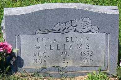 WILLIAMS, LULA ELLEN - Conway County, Arkansas | LULA ELLEN WILLIAMS - Arkansas Gravestone Photos