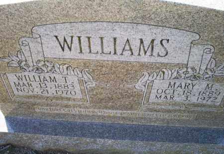 WILLIAMS, MARY M. - Conway County, Arkansas | MARY M. WILLIAMS - Arkansas Gravestone Photos