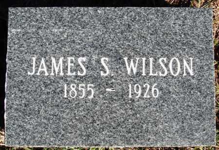 WILSON, JAMES S. - Conway County, Arkansas   JAMES S. WILSON - Arkansas Gravestone Photos