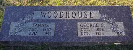 WOODHOUSE, GEORGE S. - Conway County, Arkansas | GEORGE S. WOODHOUSE - Arkansas Gravestone Photos