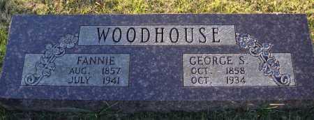 WOODHOUSE, FANNIE - Conway County, Arkansas | FANNIE WOODHOUSE - Arkansas Gravestone Photos