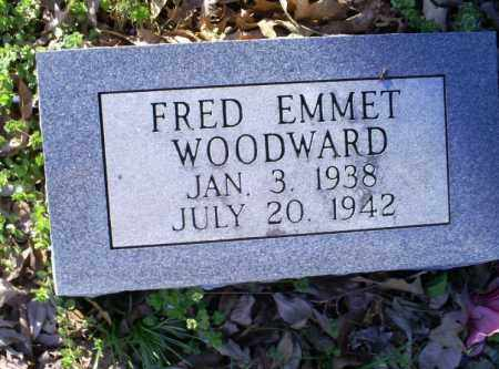 WOODWARD, FRED EMMET - Conway County, Arkansas   FRED EMMET WOODWARD - Arkansas Gravestone Photos